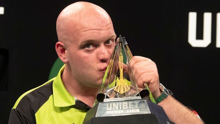 Michael van Gerwen has dominated the Premier League since making his debut in 2013