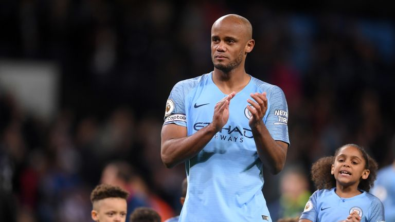 Vincent Kompany left Manchester City in the summer