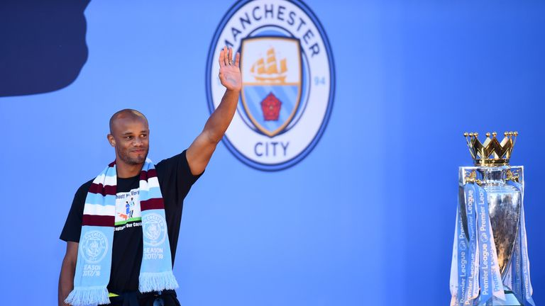Vincent Kompany departs Manchester City after winning four Premier League titles, two FA Cups and four League Cups