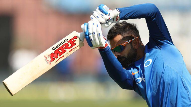 Virat Kohli is the No 1-ranked ODI batsman in the world