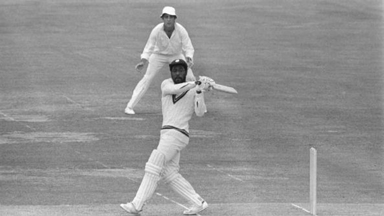 Viv Richards goes on the offensive against England