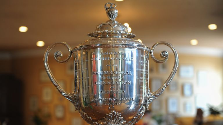 The Wanamaker Trophy, which is awarded to the winner of the PGA Championship