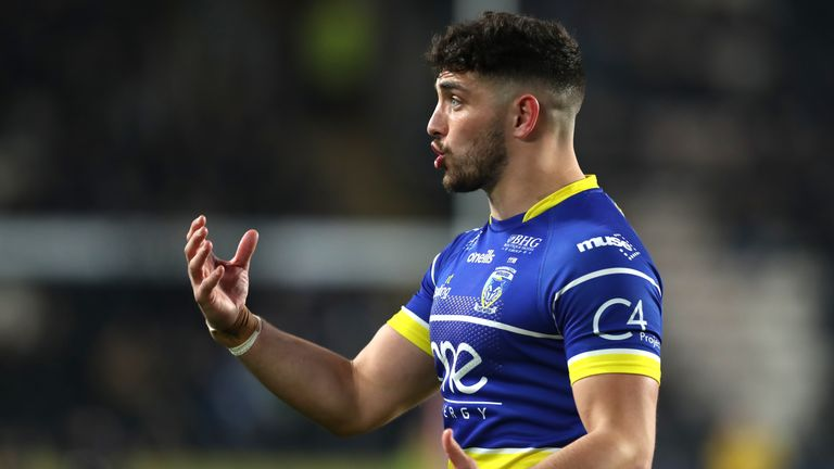 Danny Walker is back in contention for Warrington Wolves against Hull FC