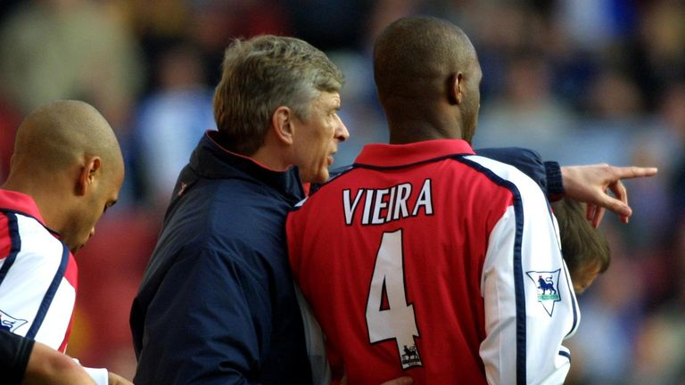 Arsene Wenger believes Patrick Viera has the qualities to manage Arsenal in the future