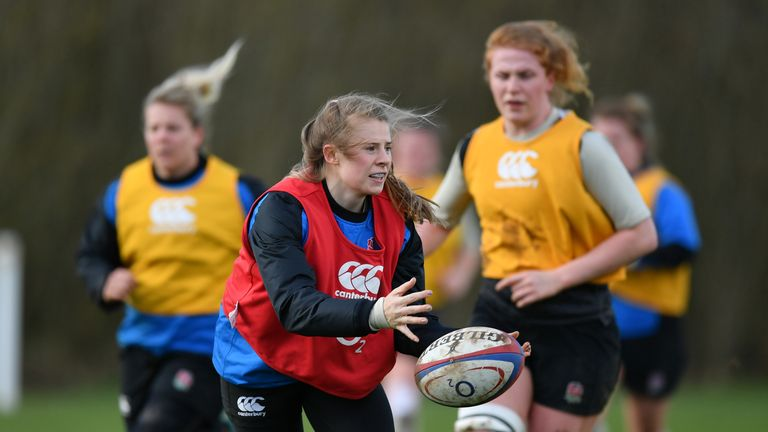 Daley-Mclean is impressed by England youngsters like  Zoe Harrison