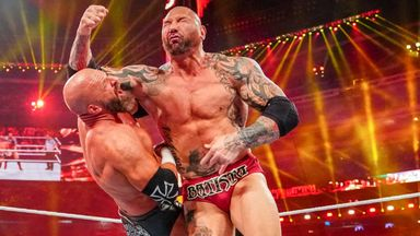 Batista came out of retirement for a one-off match against Triple H at WrestleMania 35