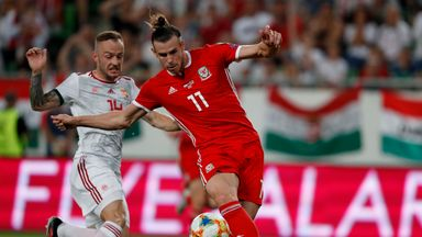 Gareth Bale missed a golden opportunity for Wales at 0-0