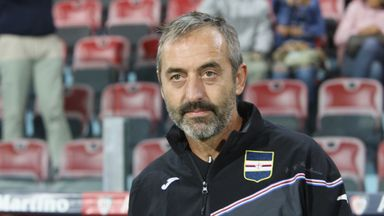 Marco Giampaolo left his role as Sampdoria head coach on Saturday