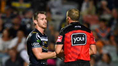North Queensland Cowboys were on the wrong end of a controversial decision
