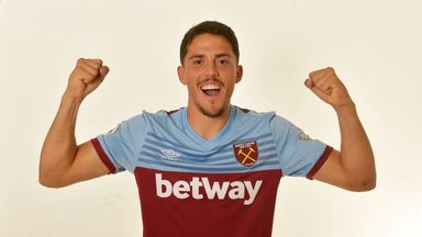 Pablo Fornals is West Ham's second most expensive signing