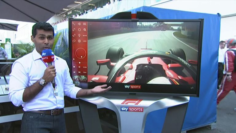 Watch the SkyPad analysis with Karun Chandhok that Ferrari submitted as part of their evidence to challenge Vettel's Canadian GP penalty
