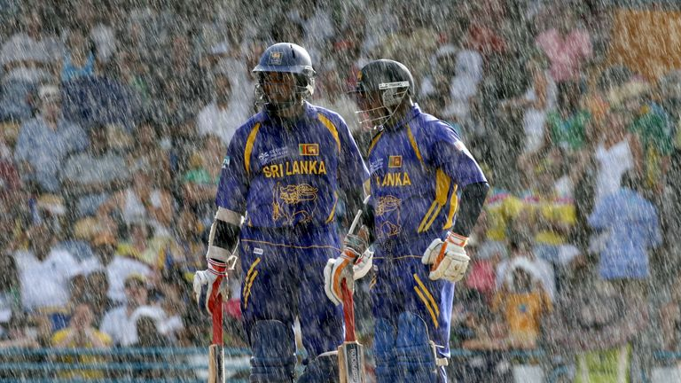 Rain has disrupted proceedings in previous Cricket World Cups
