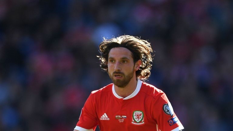 Joe Allen is set to win his 50th cap for Wales when they face Croatia on Saturday