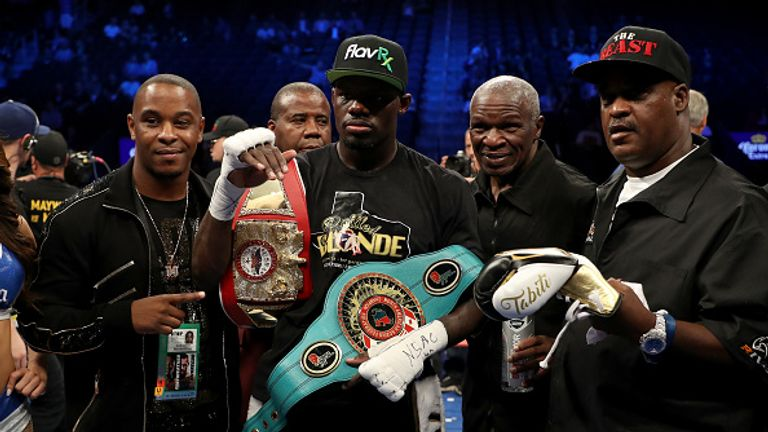 Andrew Tabiti's undefeated career has been guided by Floyd Mayweather Sr