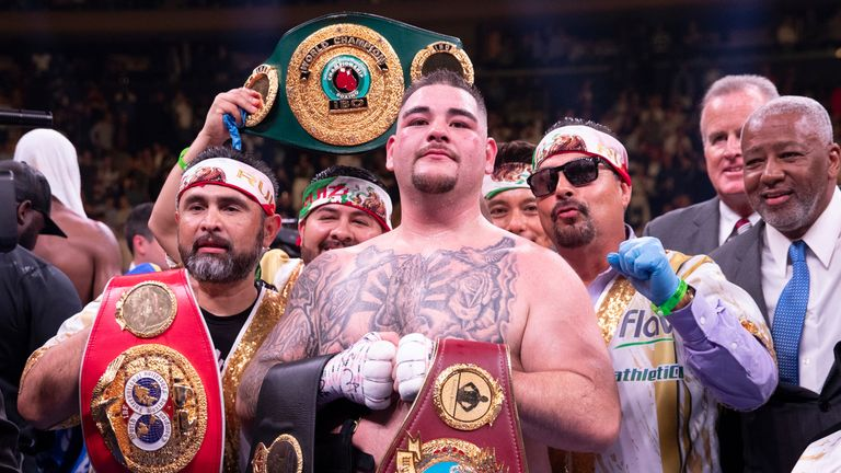 Ruiz Jr is reluctant to fight Joshua in the UK
