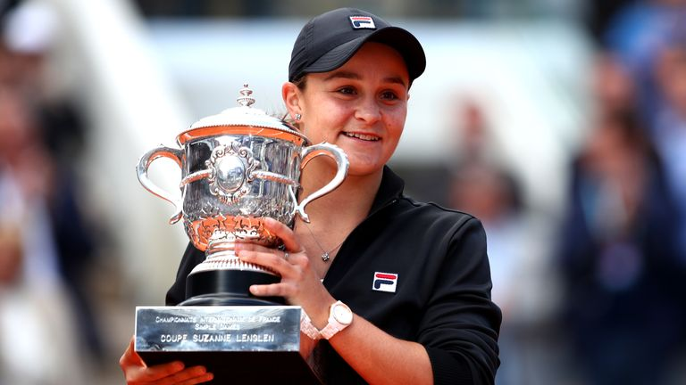 Ashleigh Barty is up to world No 2 and closing in on top-ranked Naomi Osaka
