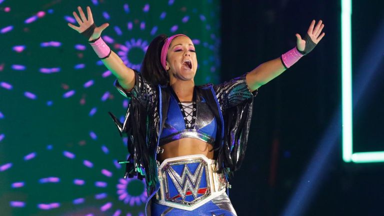 Bayley will defend her SmackDown title against Alexa Bliss at Extreme Rules on July 14