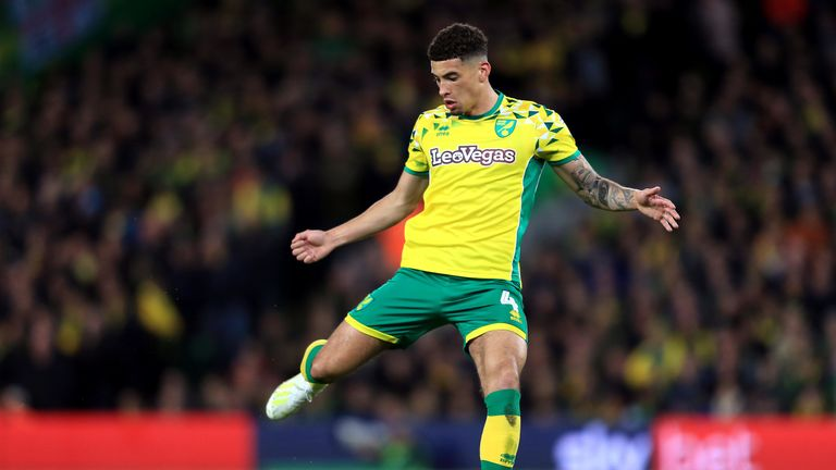 Godfrey scored four goals and made two assists in 31 games for Norwich last season.
