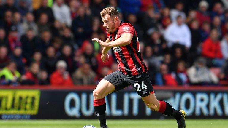 Bournemouth winger Ryan Fraser has one year left on his contract at the Vitality Stadium
