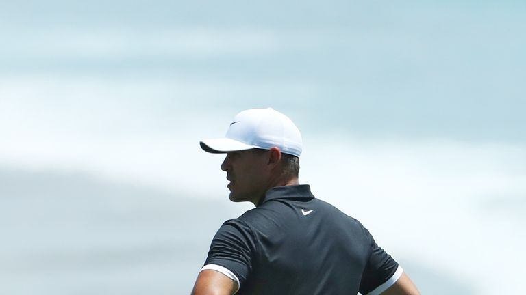 Koepka is bidding for a fifth major victory at Pebble Beach