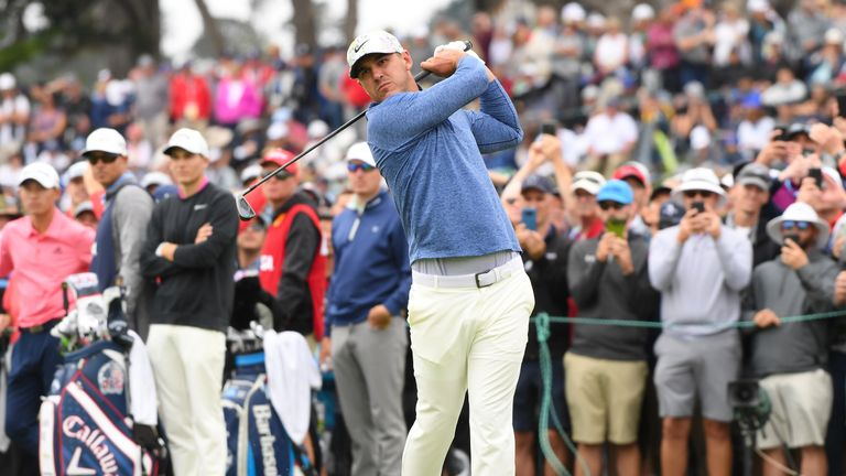 Koepka has had two days off to recover from his US Open exertions