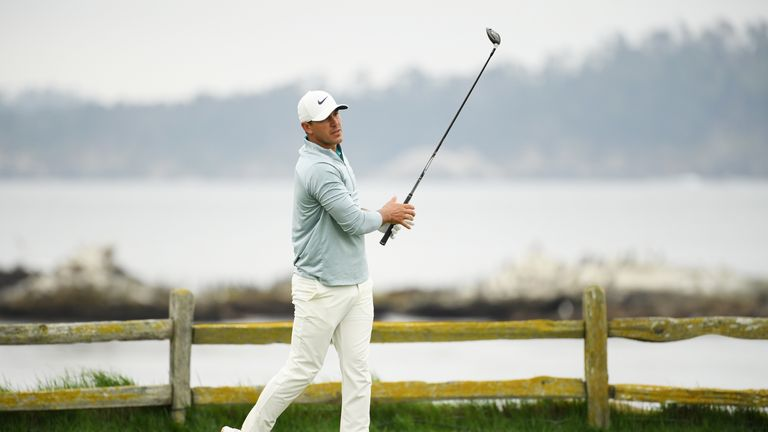 Koepka gave credit to Gary Woodland for holding firm