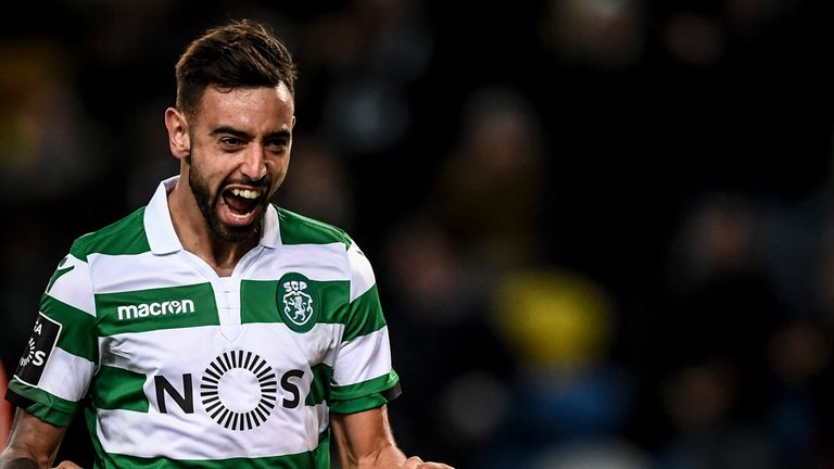 Bruno Fernandes agent returns to England for Man Utd meeting