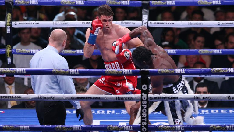 Callum Smith Destroys Hassan N'Dam in Three