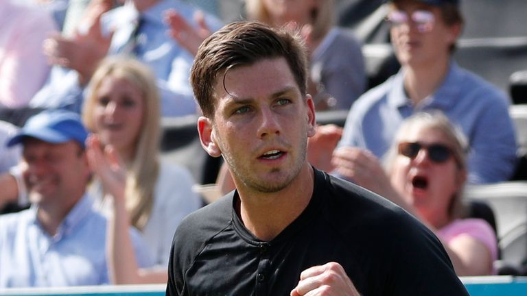 Cameron Norrie is currently ranked 62 in the world