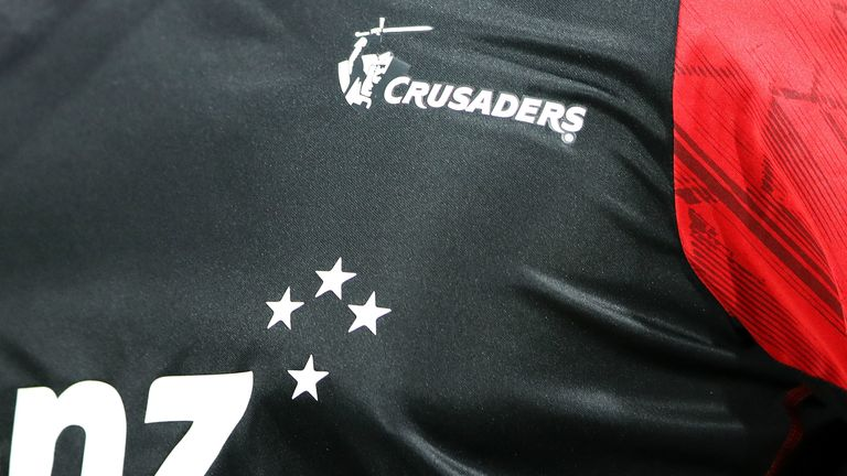 The Crusaders branding includes a logo of a sword-wielding knight