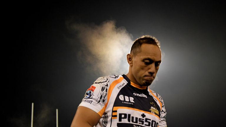 Christian Lealiifano will leave the Brumbies after 12 years in Canberra