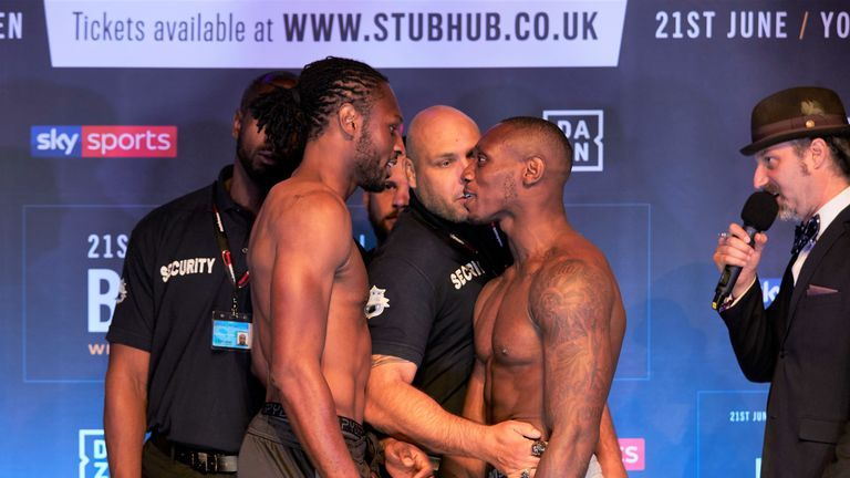 Craig Richards settles rivalry with Andre Sterling
