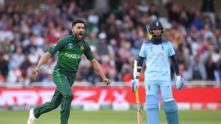 Mohammad Amir took 2-67 in Pakistan's win over England