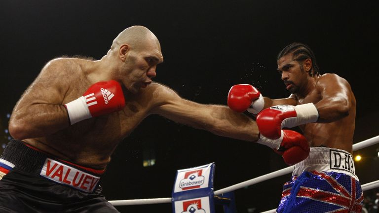 The 'Hayemaker' tamed the 'Beast from the East' Nikolai Valuev to win the WBA heavyweight title after conquering the cruiserweight division