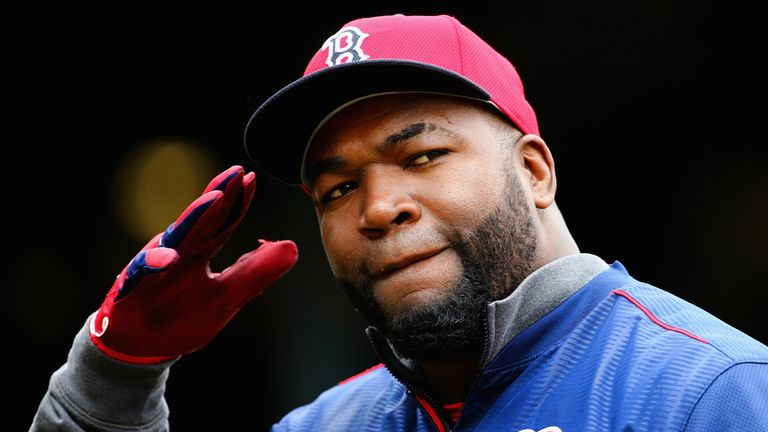David Ortiz was a two-time World Series MVP with the Boston Red Sox