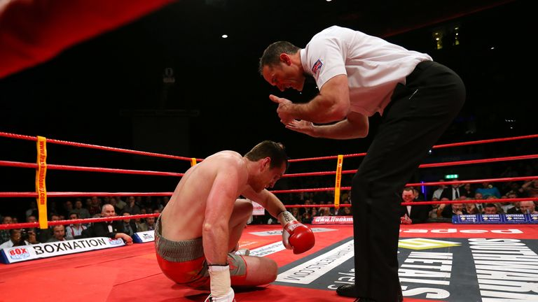 David Price's undefeated record of 15 straight wins was ended by Tony Thompson