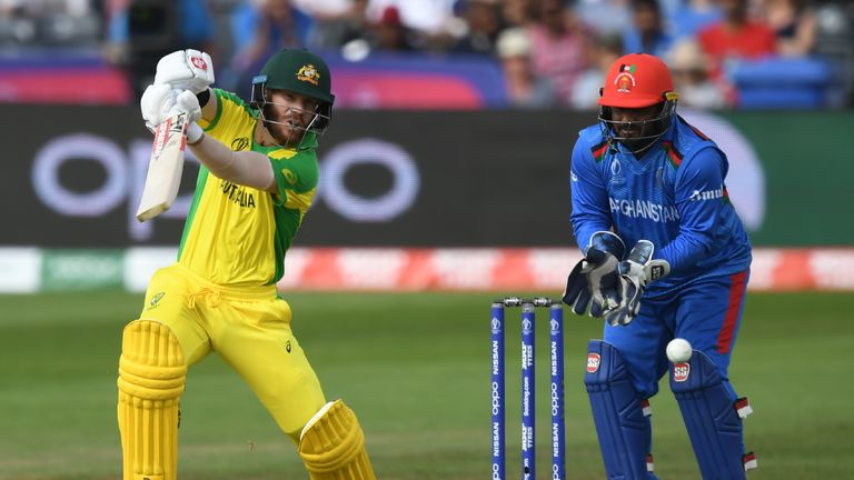 Warner was a fitness doubt but he justified Justin Langer's inclusion