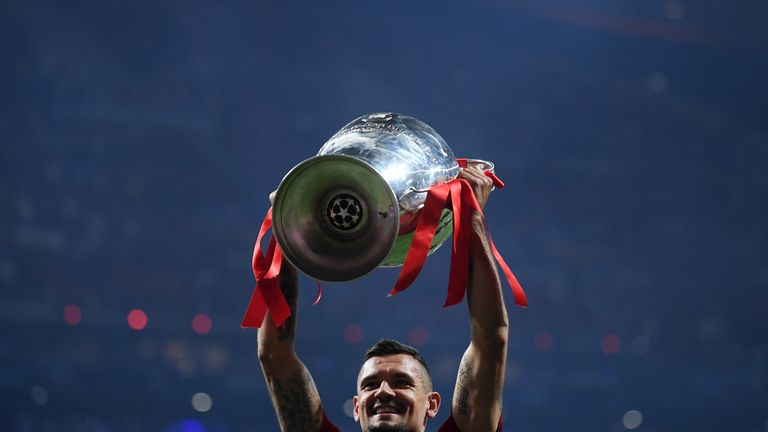 Lovren did not feature in Liverpool's Champions League final win