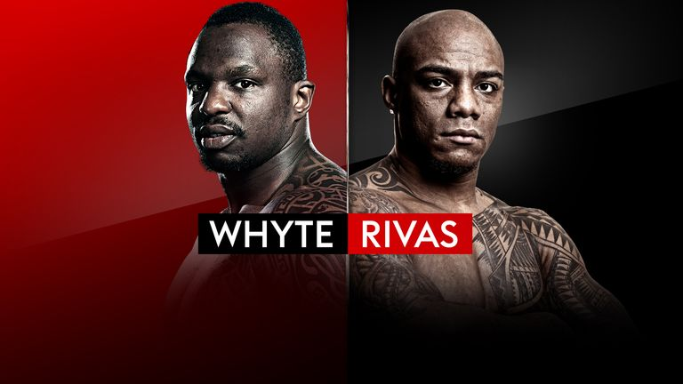 Dillian Whyte risks his world heavyweight title ambitions against Oscar Rivas