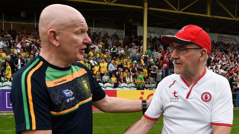 Tyrone overcame their provincial rivals last year in what was a de facto All-Ireland quarter-final