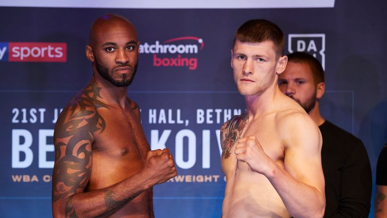 Duane Sinclair faces Anthony Fox on Friday night