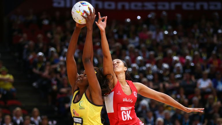 England's last Bronze Medal match at a Netball World Cup saw them face Jamaica