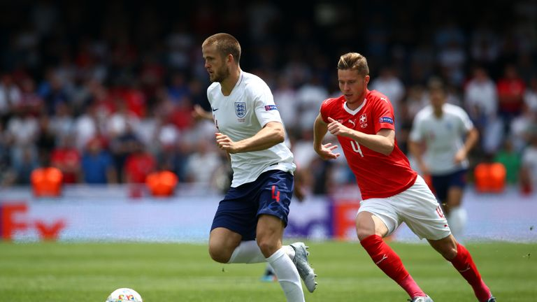 Dier played for England in the Nations League finals last month