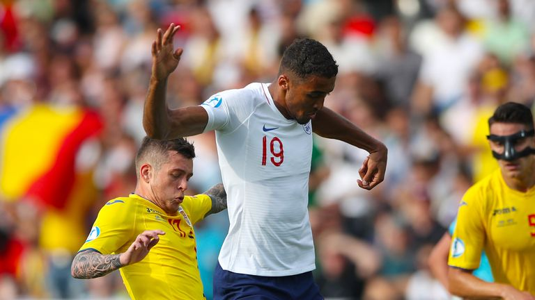 Dominic Calvert-Lewin failed to fire for England against Romania