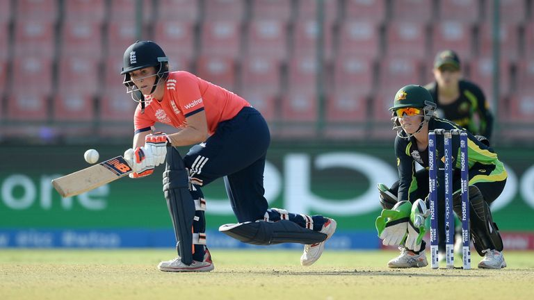 Former England captain Charlotte Edwards retired in 2016