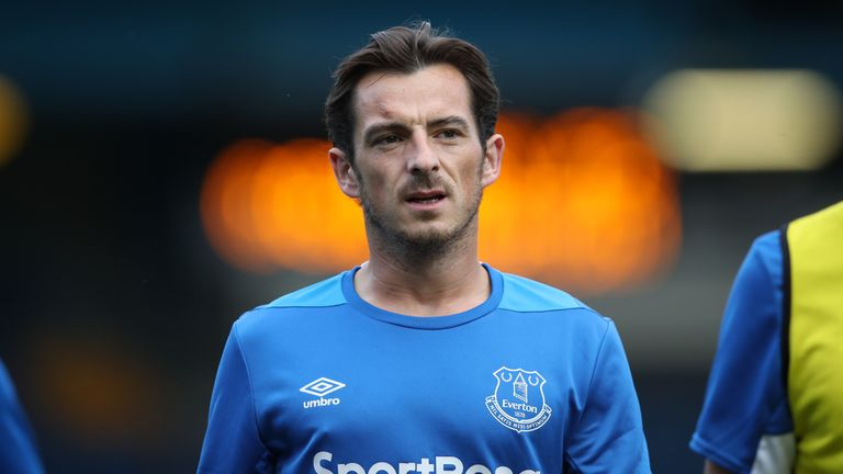 Everton defender Leighton Baines is excited by the club's new stadium
