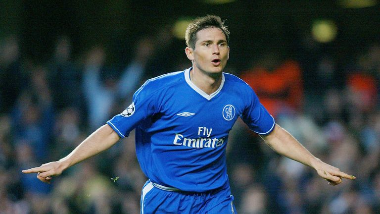Lampard is Chelsea's all-time leading goalscorer