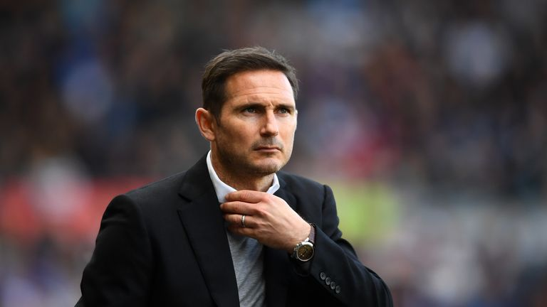 Lampard led Derby to the Championship play-off final last season