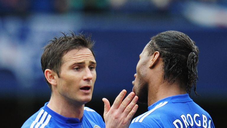Lampard and Drogba won four FA Cups, three Premier League titles and one Champions League together at Chelsea