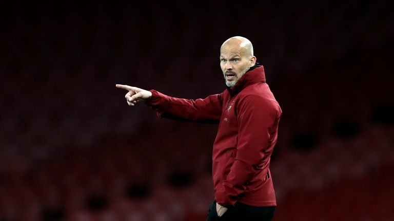 Freddie Ljungberg will step into the Arsenal hotseat for now but could he take the full-time reigns?